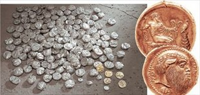 politismos3 2010 10 1 15 48 15 b Σπάνια Νομίσματα στο Μέγαρο Σλήμαν